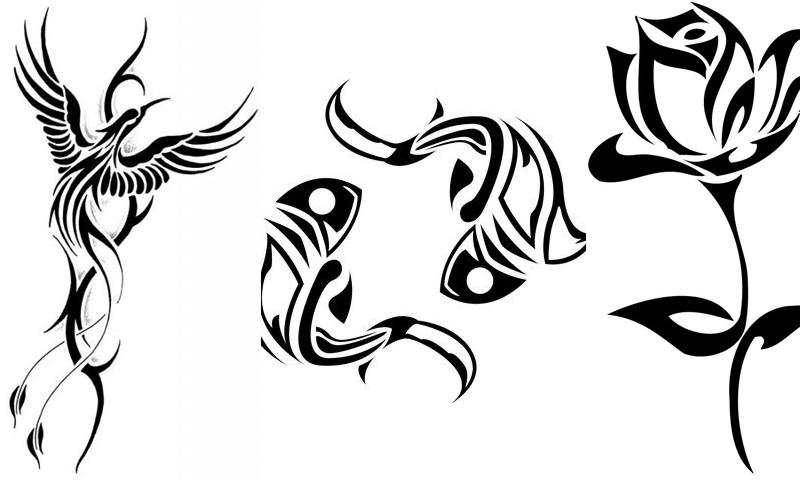 Tribal Tattoo Line Drawing : Amazon tribal tattoo designs appstore for android