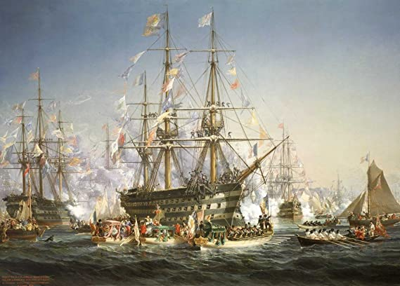 Image result for falcon puzzle napoleon 3 receiving Queen victoria at cherbourg