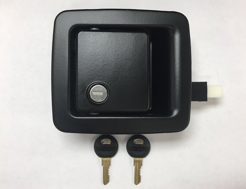 TriMark RV Motorhome Compartment Storage Baggage Latch Lock 2 Keys TM500