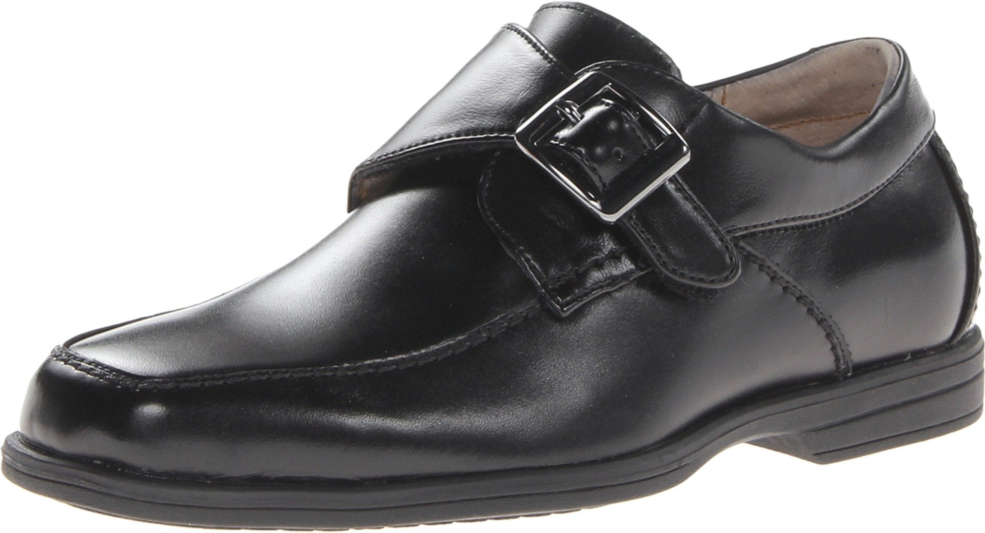 Florsheim Kids  Reveal Monk JR Uniform Loafer (Toddler/Little Kid/Big Kid),Black,6.5 M US Big Kid