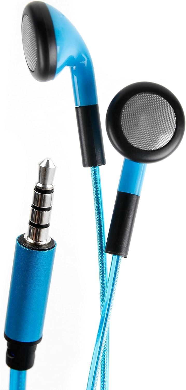 DURAGADGET Auriculares In-Ear con Luz LED Azul para Teclado ...