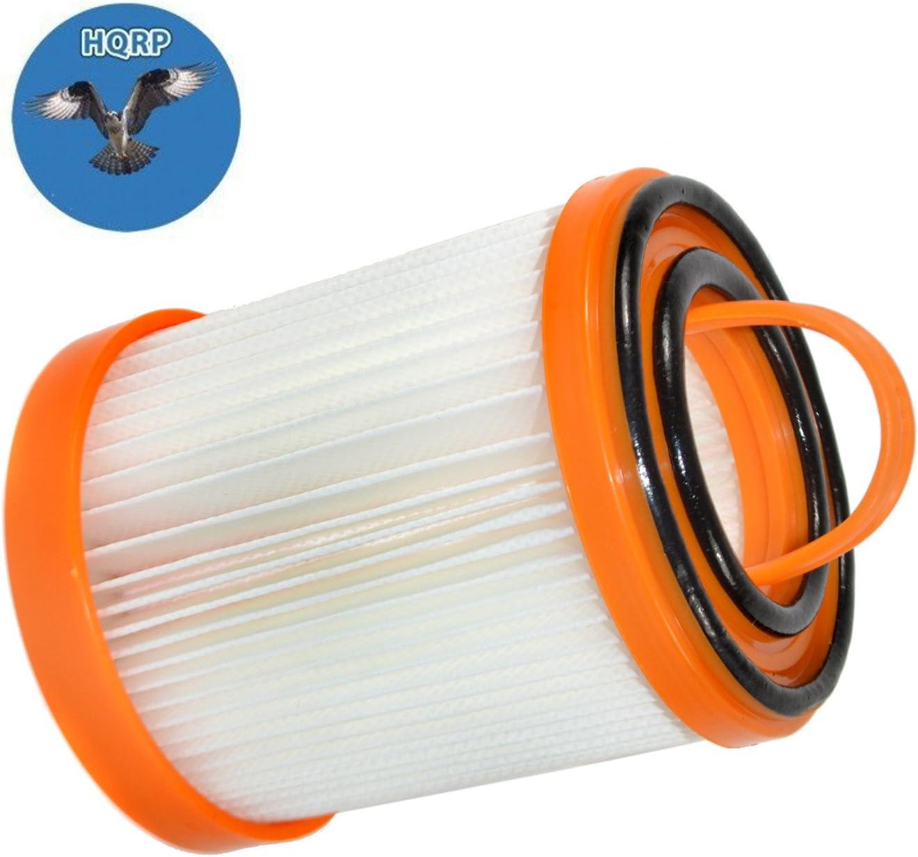 HQRP Dust Cup Filter for Eureka 5700, 5740A, 5810A, 5811A, 5812A, 5813AV, 5815AV, 5856, 5857, 5859ASZ, 5860AVH, 5860AVZ, 5860BVZ Litespeed Whirlwind Bagless Vacuum Cleaners Coaster