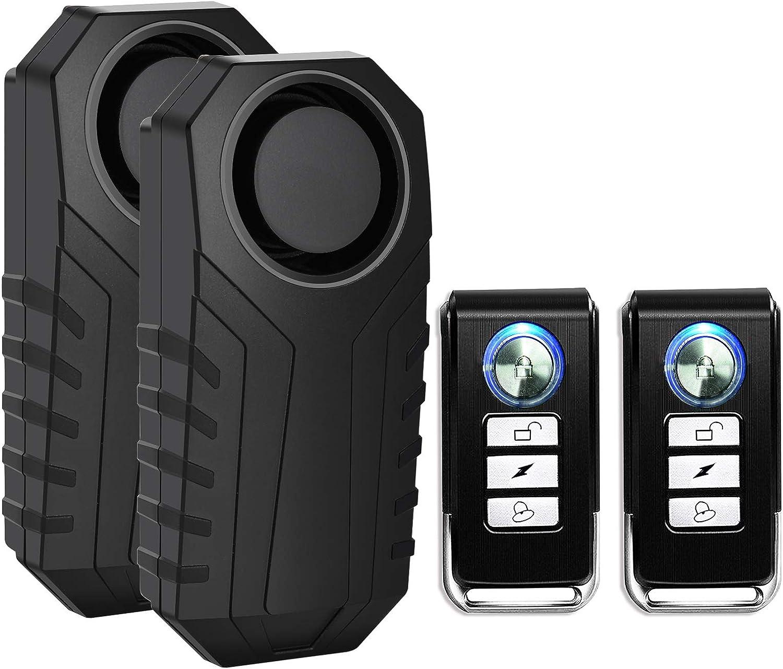 Alarm Padlock Lock Motorbike Anti Theft Motion Sensor Bike Waterproof 2XSecurity