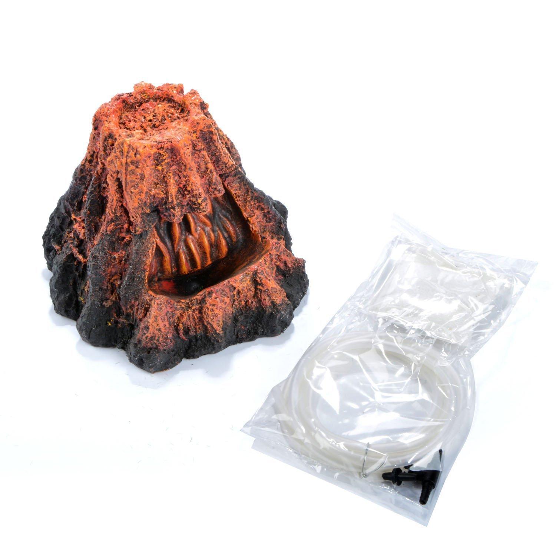 Uotyle Resin Volcano with Quick Sand Aquarium Ornament