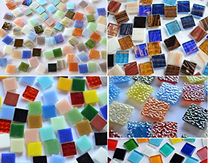 Bazare Masud E K 500 Pezzi Di Vetro Per Mosaico Pietre