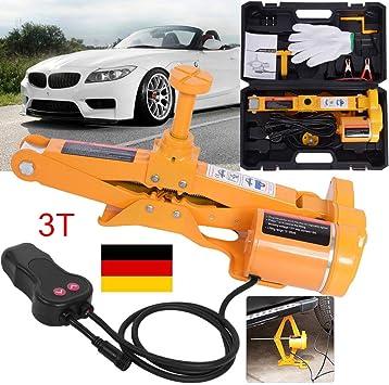 12v Elektrischer Wagenheber 3t Rangierwagenheber Scherenlift Heber Für Auto Kfz Auto