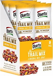 product image for Oberto Original Beef Jerky Trail Mix, 2 Ounce (Pack of 8)