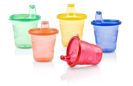 Munchie Mug Snack Cup 16 oz Orange ABC