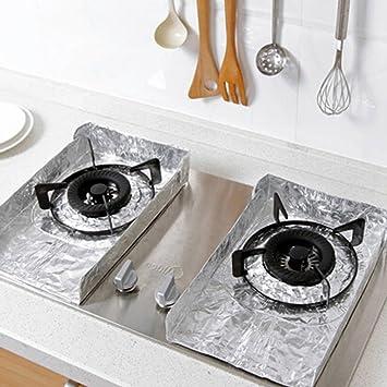 Amazon.de: HengXingDE 2 stücke Folie Küche Kochen Öl Spritzschutz ...