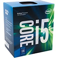 Intel Core i5-7500 3.40 GHz Base Frequency Quad Core 6 MB Cache CPU Processor - Black