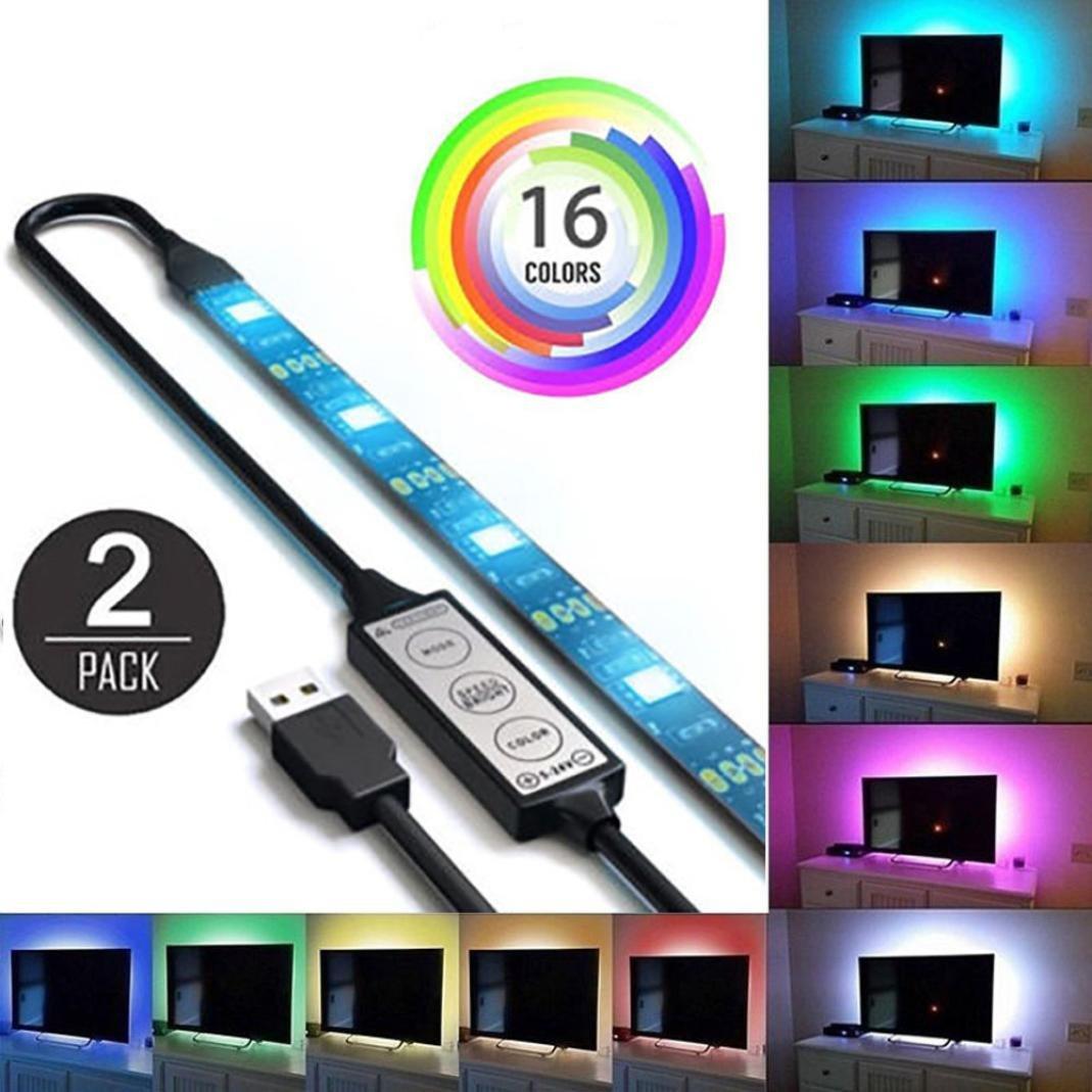 2Pcs USB mit LED- beleuchtung fü r tv - 5050 - computer hintergrundbeleuchtung fü r die einrichtung xinxinyu