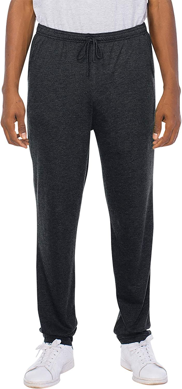 American Apparel Mens Tri-Blend Lounge Pant Pants