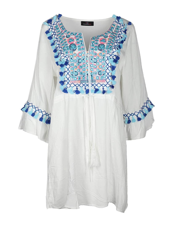 high quality Zwillingsherz Sommerkleid im Inka Design