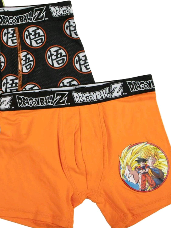 Dragon Ball Z Boxer Brief 3-Pack Underwear for Boys