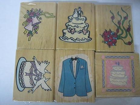 bridal shower stamp set