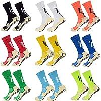 Non Slipping Basketball Socks - Anti Slip Mid Calf Soccer Socks