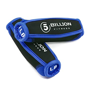 5BILLION Mancuernas & Soft Dumbbells- Ideal Para Ejercicios de Brazo, Entrenamiento Con Pesas,