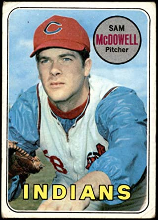 Amazon.com: 1969 Topps # 220 Sam McDowell Cleveland Indians (Baseball Card)  Dean's Cards 2 - GOOD Indians: Collectibles & Fine Art