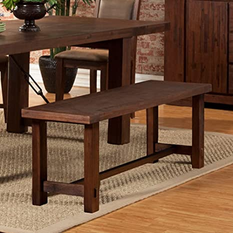 Amazon.com: Alpine Muebles – Banco Pierre antiguos Capuchino ...