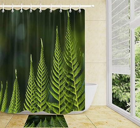 LB Carina Uccelli Tessuto in Poliestere Impermeabile Bagno Tenda da Doccia Stampa Digitale 3D Decorazioni da Bagno Stampa Artistica 12Hooks 150x180cm