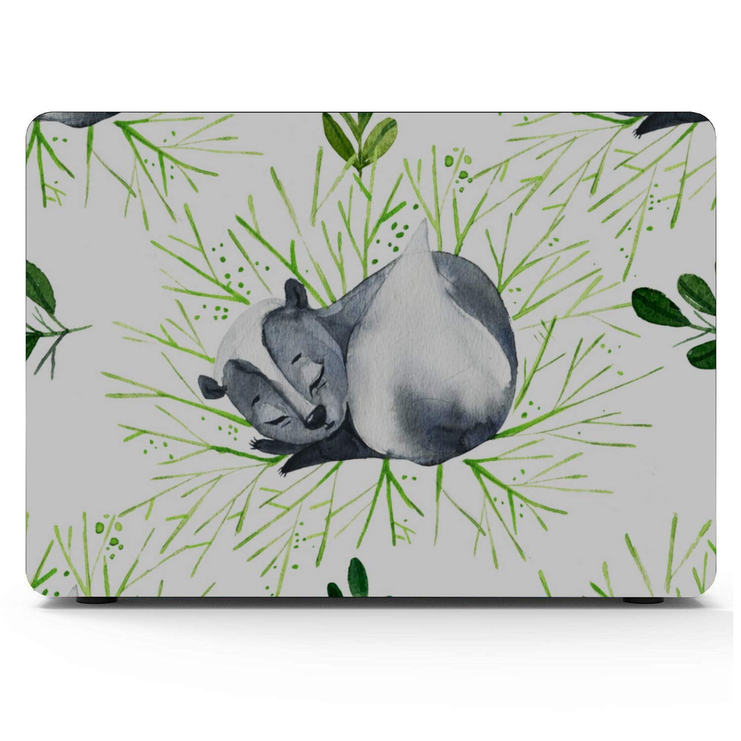 A1707 MacBook Pro Case Spring Cartoon Skunk Flowers Leaf Plastic Hard Shell Compatible Mac Air 11 Pro 13 15 Mac Book Cases Protection for MacBook 2016-2019 Version