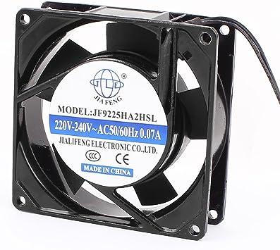 Aexit AC 220V-240V 0.07A 90mmx90mmx25mm PC CPU Ventilador de ...