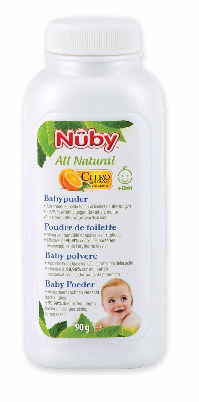 Nûby - Poudre de Toilette - 2x90g - 0 Mois - Double pack CG78004DUFRGEIT-2