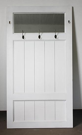 Alte Tür Als Garderobe garderobe tür spiegel weiß antik landhaus holz wandgarderobe dekotür