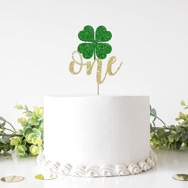 Lucky One Birthday Shamrock Birthday Crown St Patrick\u2019s Day Birthday Crown Shamrock 1st Birthday March 1st Birthday Our Little Shamrock