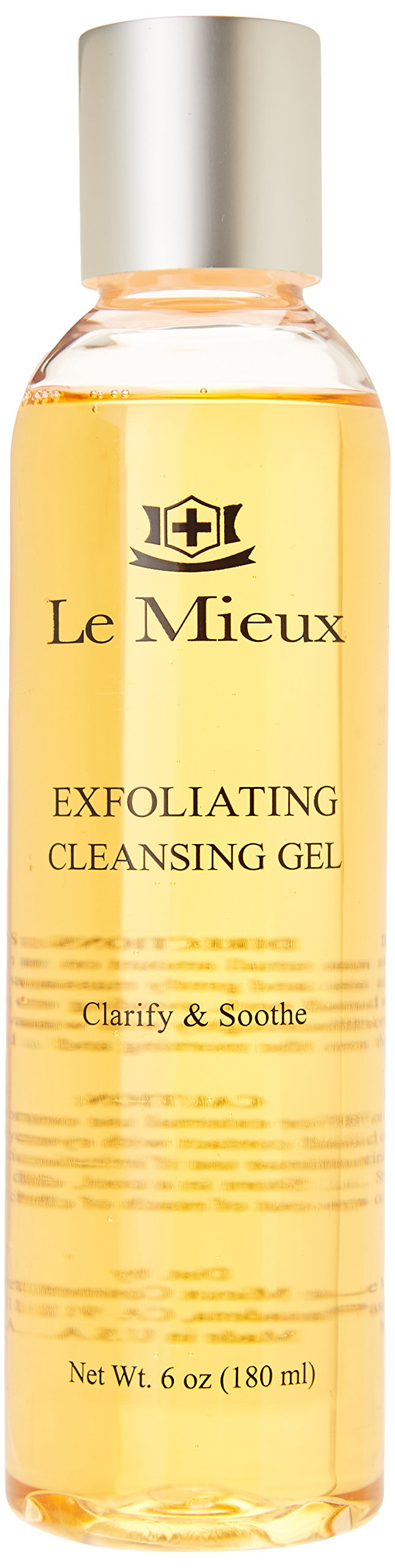Le Mieux Exfoliating Cleansing Gel, 6 Ounce