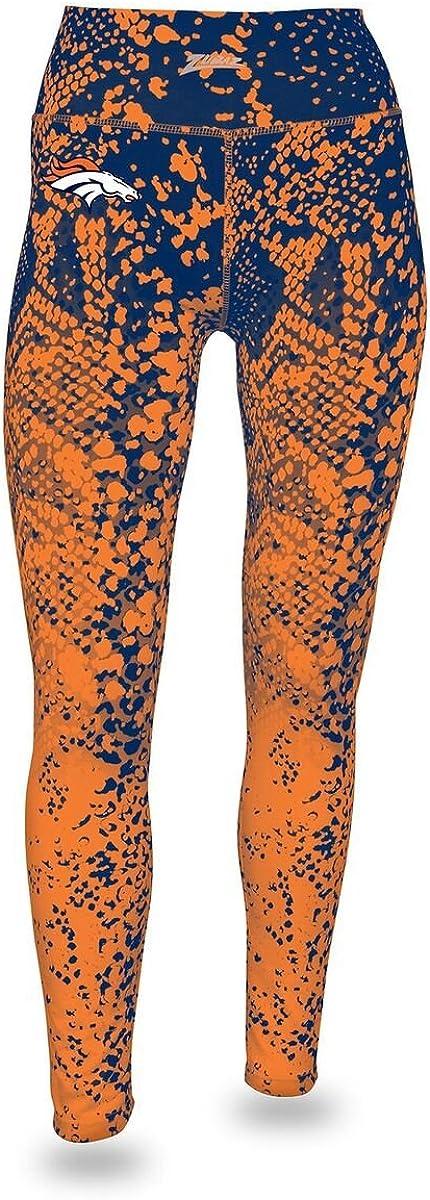 Zubaz Officially Licensed Womens NFL Womens Gradient Print Leggings Team Color