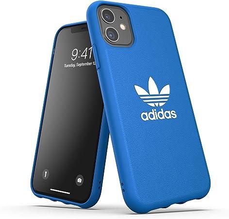 Adidas Originals Designed Für Iphone 11 Hülle Schutz Geformte Tpu Handyhülle Blau Elektronik