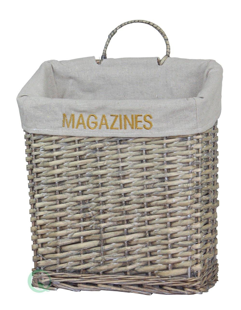 Vintiquewise(TM) Vintage Magazine Basket Quickway Imports QI003072