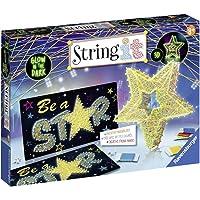 Ravensburger 18052String it Maxi: 3D Stars–Glow in the Dark Kit de jeu