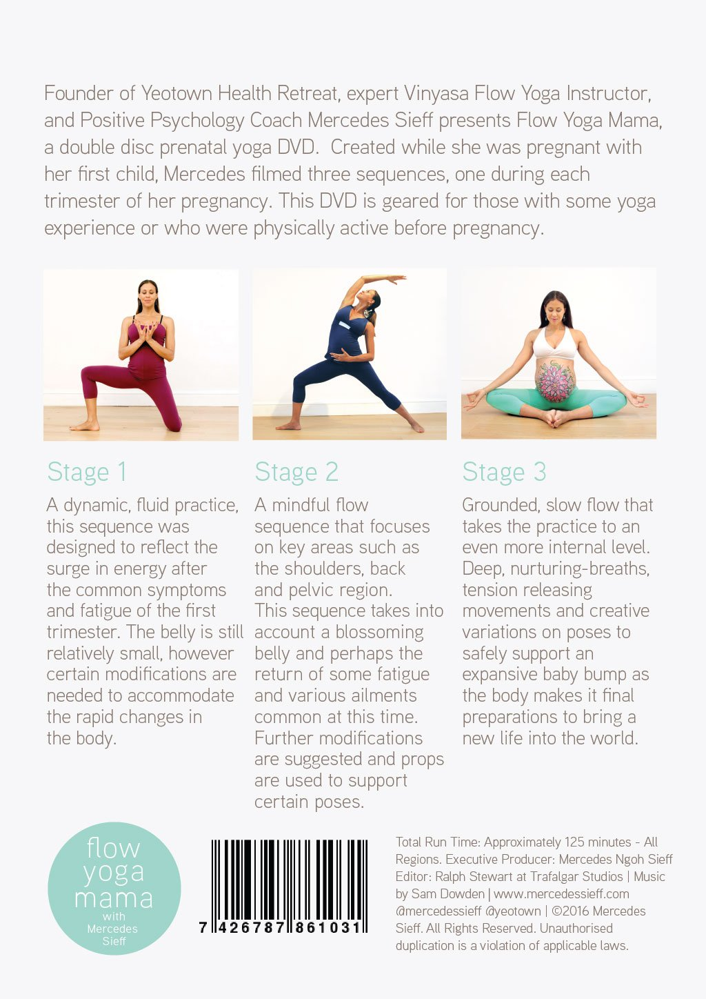 Flow Yoga Mama A Pregnancy Yoga Sequence For Each Trimester With