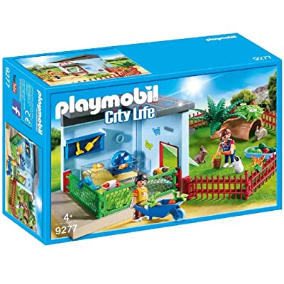 PLAYMOBIL Small Animal Boarding: Toys & Games