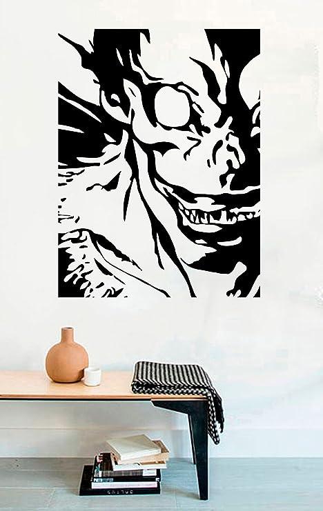 Amazon.com: Death Note Anime Vinyl Wall Decal Ryuk Demon ...