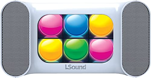 iSound ISOUND-5383 Mini Dancing Lights Bluetooth Speaker White