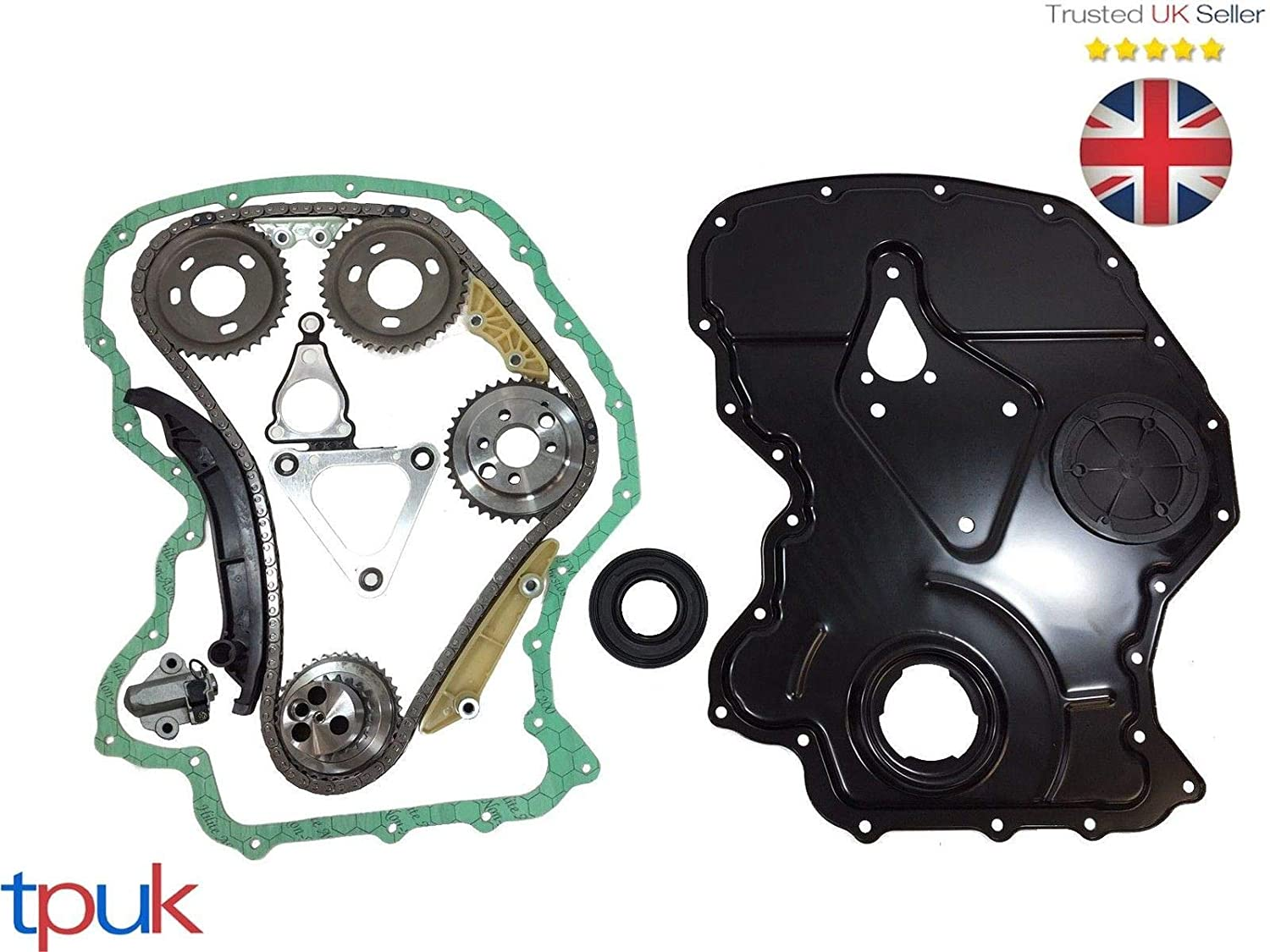TRANSIT TIMING CHAIN KIT 2.4 RWD 2006- MK7 FRONT COVER/GASKET CRANK SEAL TPUK