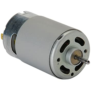 HUMSER Small 18V 6000 RPM Dc Motor (Silver): Amazon.in: Home Improvement