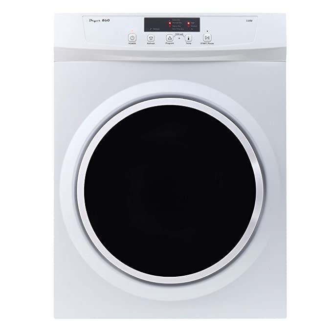 Equator ED860 Compact 3.5cu.ft. Dryer-Sensor Dry/Refresh function best electric dryer