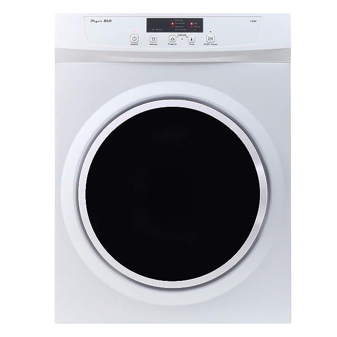 Equator ED860 Compact 3.5cu.ft. Dryer-Sensor Dry/Refresh function best electric dryer