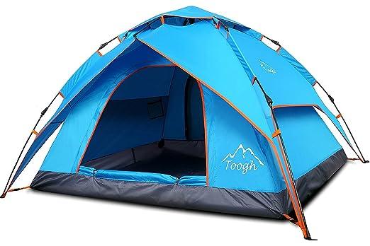 13 opinioni per Toogh Tenda da Campeggio Impermeabile con Meccanismo Idraulico Tenda Automatica-