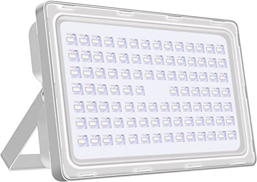 Viugreum 250W LED Flood Light Outdoor, Thinner and Lighter Design, Waterproof IP65, 25000LM, Daylight White 6000-6500K , Super Bright Security Lights, for Garden, Yard, Warehouse, Square, Billboard