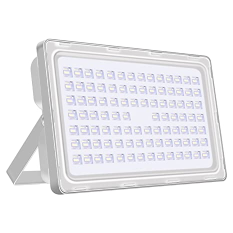 Viugreum 250w Led Flood Light Outdoor Thinner And Lighter Design Waterproof Ip65 25000lm Daylight White 6000 6500k Super Bright Security
