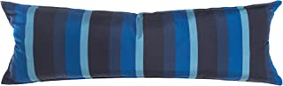 product image for Hatteras Hammocks Gateway Indigo Long Hammock Pillow, Sunbrella Fabric, Hook & Loop Fasteners, Extra Wide Size, Eco-Friendly, Handcrafted in The USA …