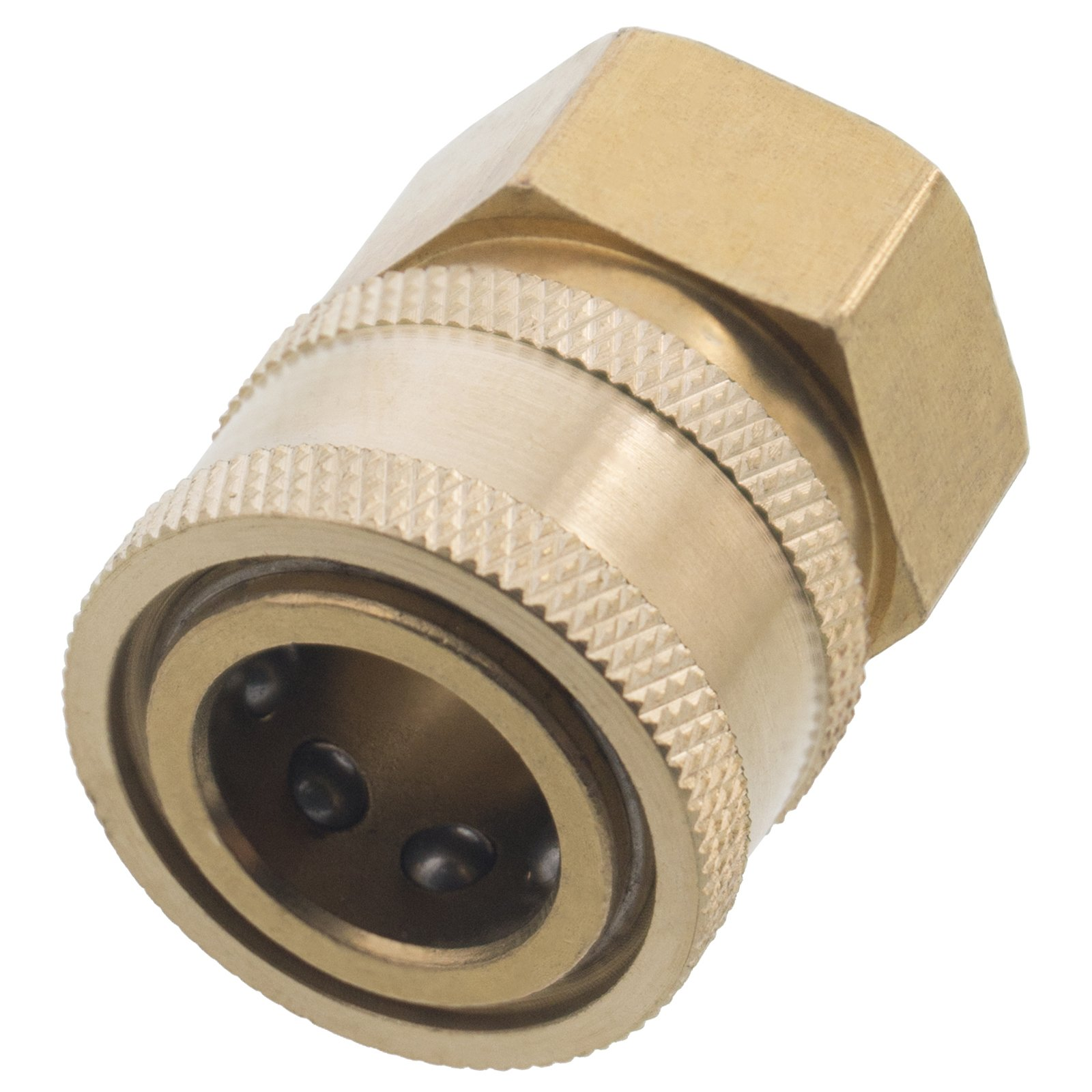Pressure Washer 3/8'' NPT-F Quick Coupler 4000 PSI (16) by General Pump