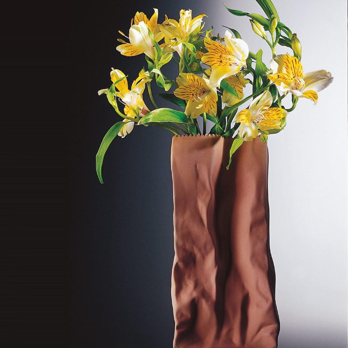 Rosenthal T/ütenvase Weiss glasiert Vase 22 cm 26022