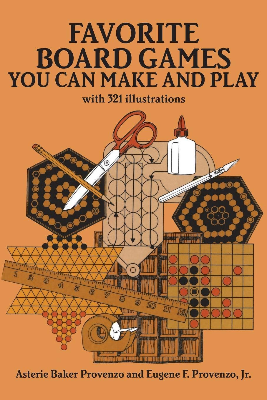 Favorite Board Games You Can Make and Play: Asterie Baker