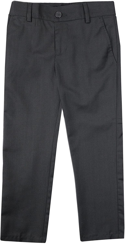 94071b8921 Top1: Armando Martillo Boys Flat Front Adjustable Waist Extra Slim Skinny  Fit Dress Pants